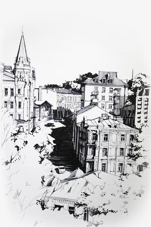 Panorama St. Andrew uzvoz - street - malenka-9713 | ello