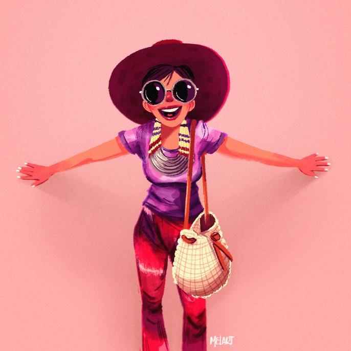Pick chic - pink, melart, girls - melart | ello