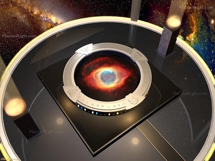 Portal Eye - portal, space, spaceship - emcdonough   ello