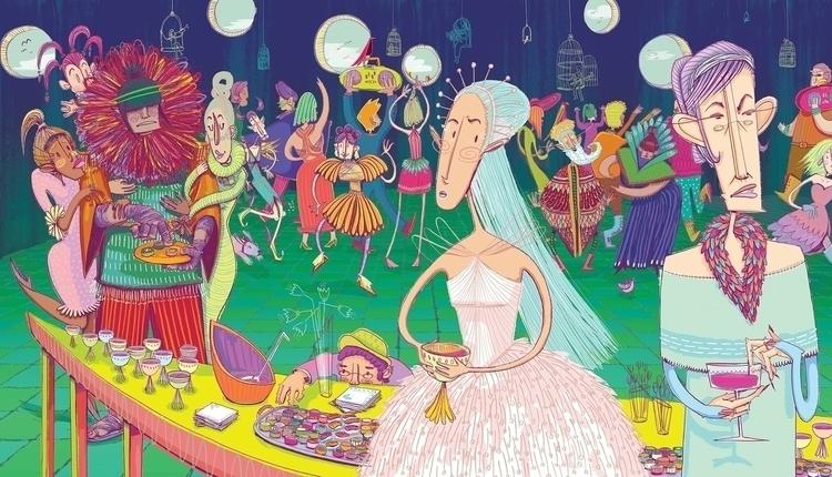Grand Ball - illustration, characterdesign - maggiemcaton   ello