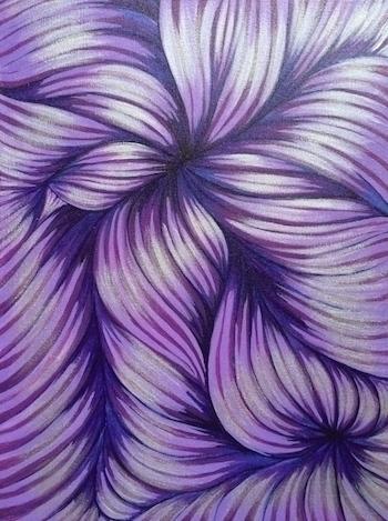 Acrylic Canvas. MarShew (Lindy  - marshew | ello