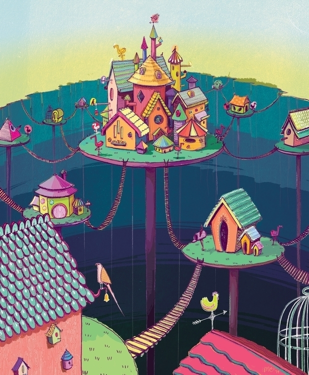 Village (ft. castle - cinderella - maggiemcaton | ello