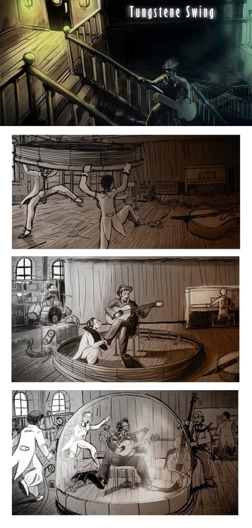 Storyboard Pascal film project  - yourizered | ello