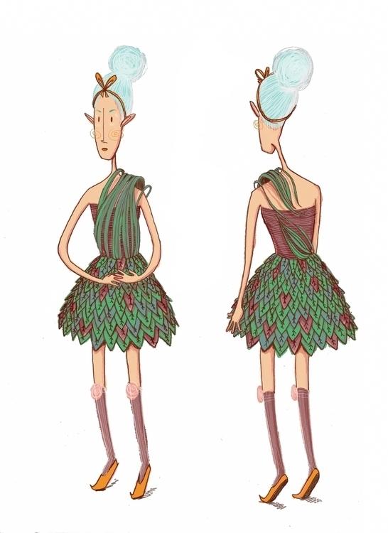 Cinderella - illustration, characterdesign - maggiemcaton | ello