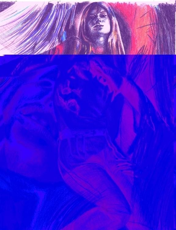 magazine Coloured Pencil - juliagurevich | ello