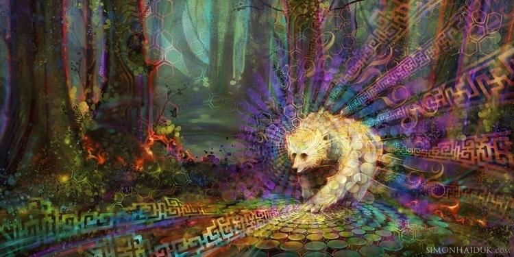 Spirit Bear - bear, nature', forest - simonhaiduk   ello