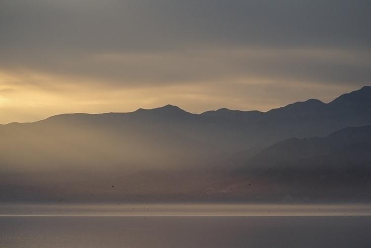 setting sun - photography, saltonsea - frankfosterphotography   ello