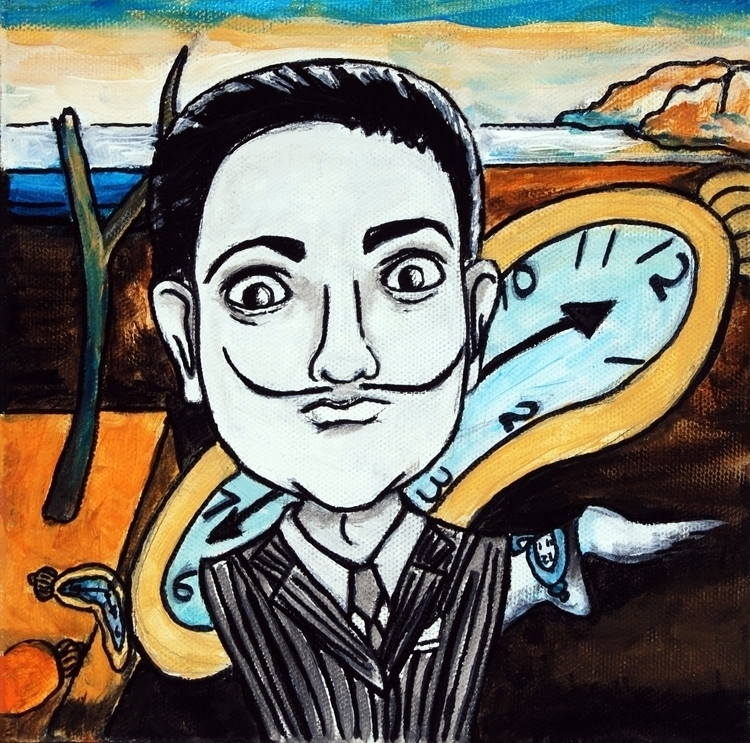 Salvador Dali - painting, surreal - sysica | ello