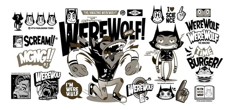 WEREWOLF SERIES - MGNG, werewolf - mgng | ello