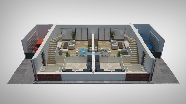 1st floor interior visualizatio - artistimpression   ello