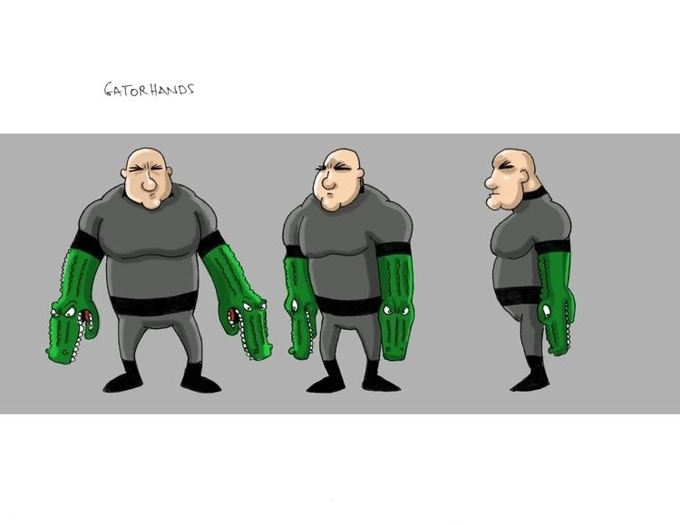 Gator hands - mearatime | ello