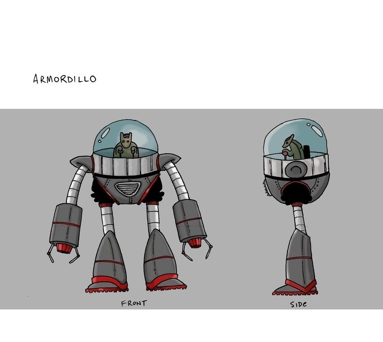 Armordillo - mearatime   ello