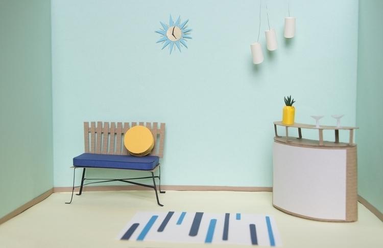 Handmade 3D 1950s Style living  - utensils0 | ello