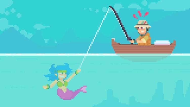 Day 29/365  - fishing - planckpixels | ello