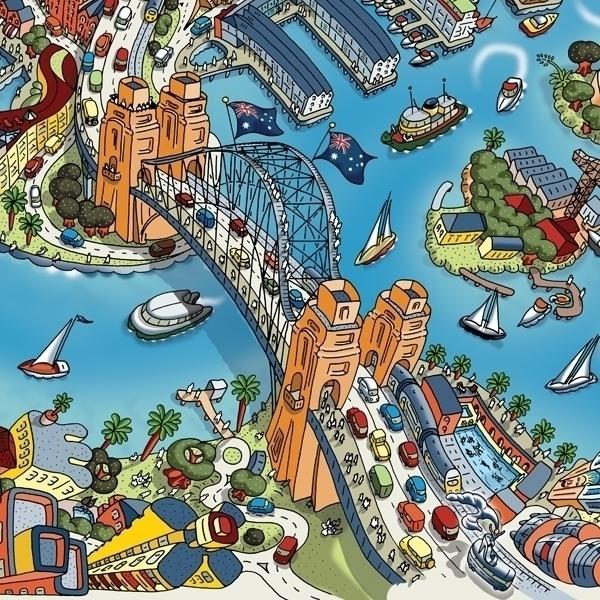 crop Sydney Harbour Bridge - hartwigbraun - hartwigbraun | ello