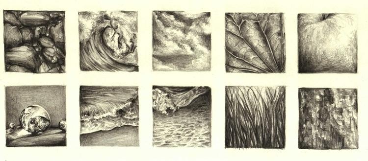 Drawing Series - Feelings Textu - vanniegama | ello