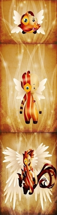 creature - illustration, characterdesign - tenenbris | ello