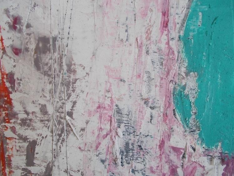 oil cardboard; 50x50cm; 2016. d - ivanmitic   ello