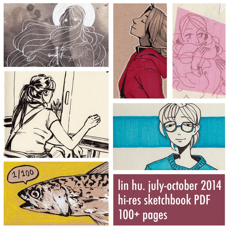 sketchbook gumroad! collection  - linbhu | ello