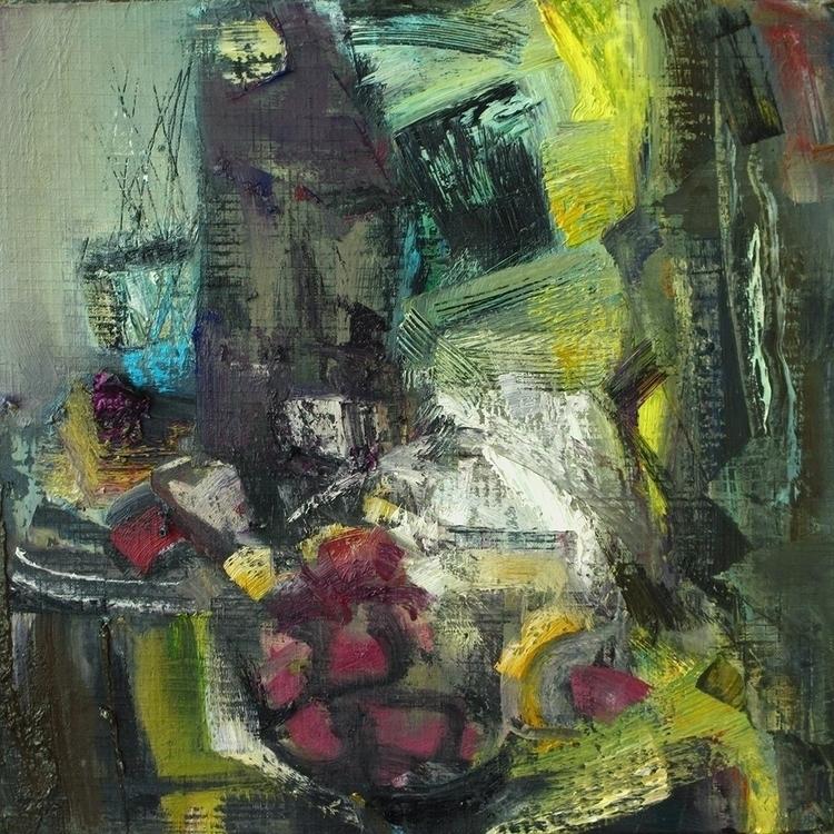 moonlit night - painting - vladimirmishyra   ello