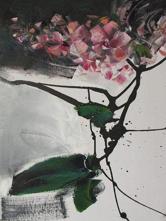 orchid - painting - vladimirmishyra | ello