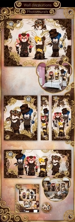 Rainbow Bears: Steampunk Editio - tenenbris | ello