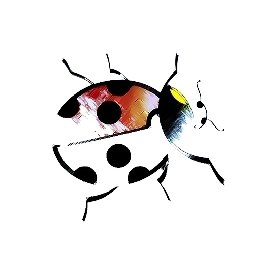 ladybird - graphicdesign, vectorart - kat77-2308 | ello
