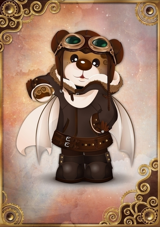 Rainbow Bears: Steampunk Editio - tenenbris   ello