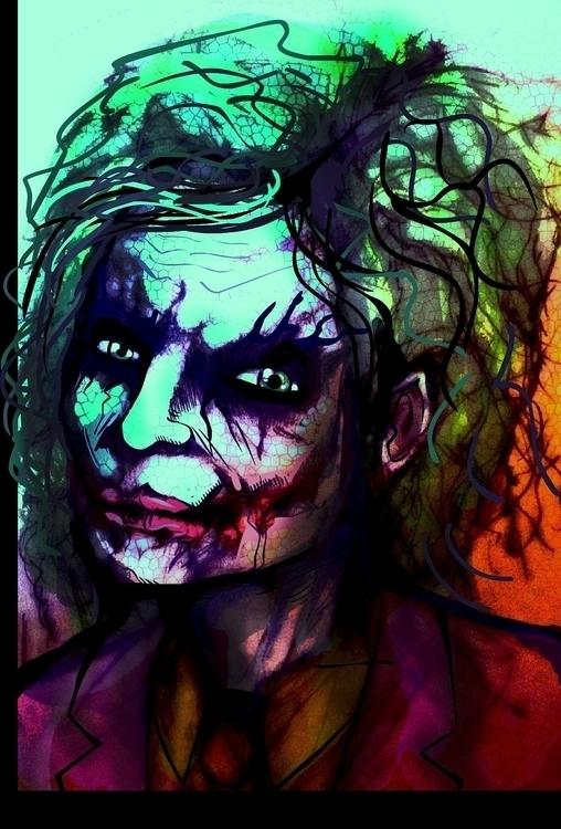 joker - portrait - jeremieduval | ello
