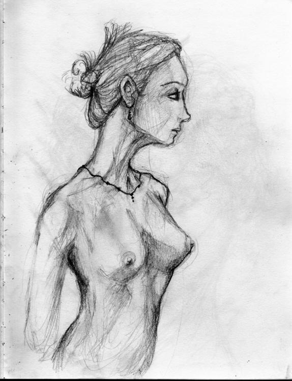 Figure drawing - nude - jeremieduval | ello
