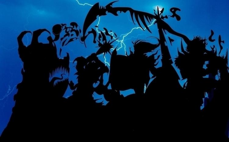 night dragon - jeremieduval | ello