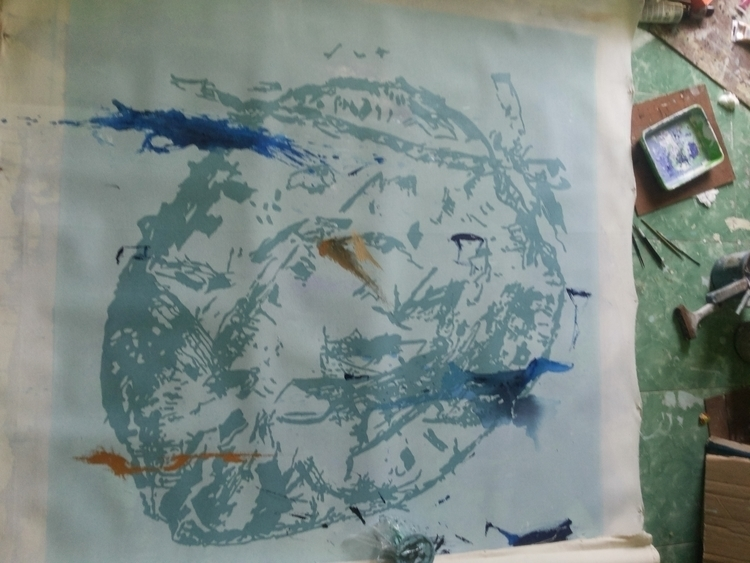 Coconut Scape - painting, visualart - raswan-5176 | ello