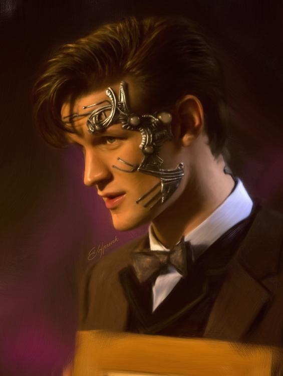 Cyber Doctor - doctorwho, mattsmith - elfpunk999   ello