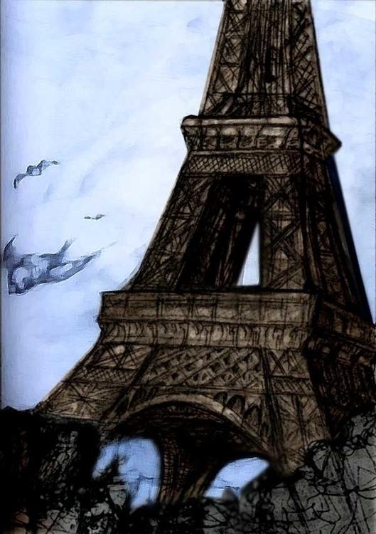 Paris - eiffeltower, paris - jeremieduval | ello