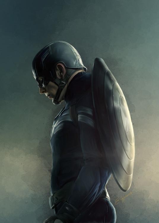 Captain America - captainamerica - elfpunk999 | ello