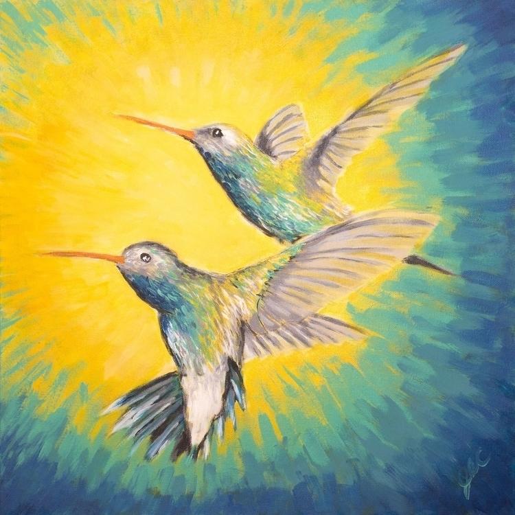 Hummingbird Dance - jessecolton - jl_colton | ello