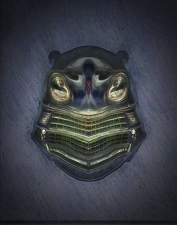 Frog Spirit mask - victorbonderoff | ello