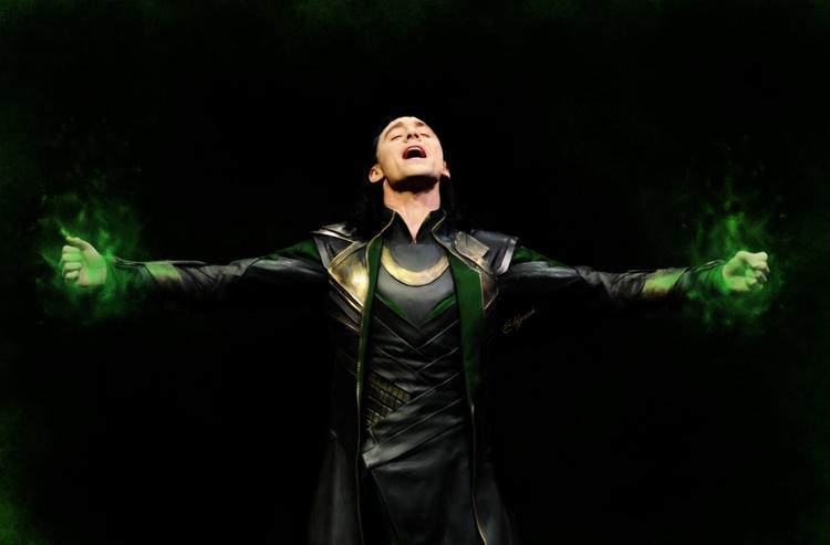 Loki - loki, magic, marvel, comics - elfpunk999 | ello