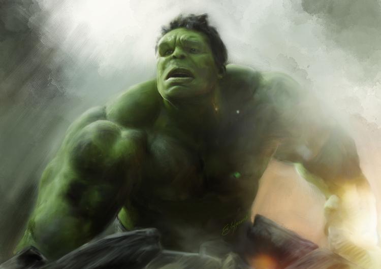 Hulk - hulk, marvel, comics, movie - elfpunk999 | ello