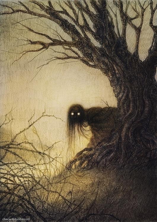 banshee, creepy, horror, dark - checanty | ello