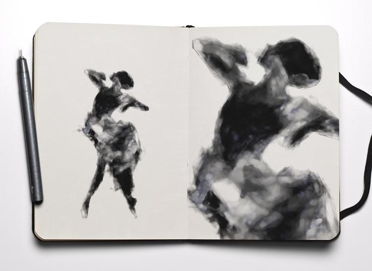 le ballerine (blackwhite - fabriziociuffatelli | ello