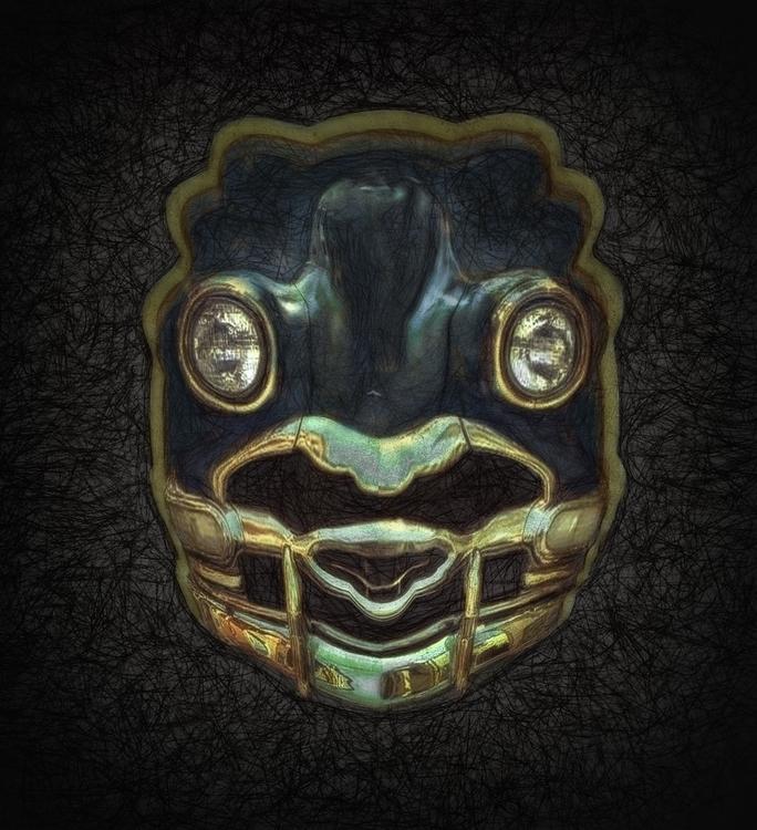 Blackbird Spirit Mask - victorbonderoff | ello