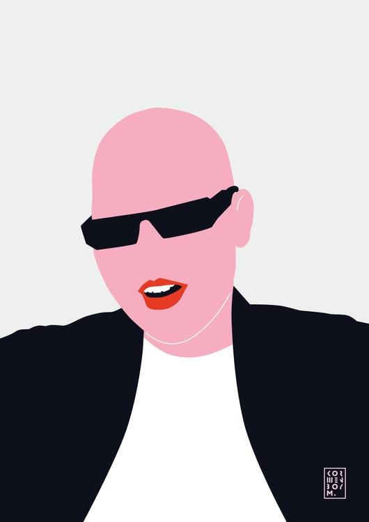 Sima. Portrait - portrait, illustration - sonyakorshenboym   ello
