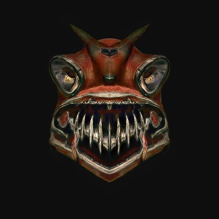 Devil Spirit Mask - victorbonderoff | ello