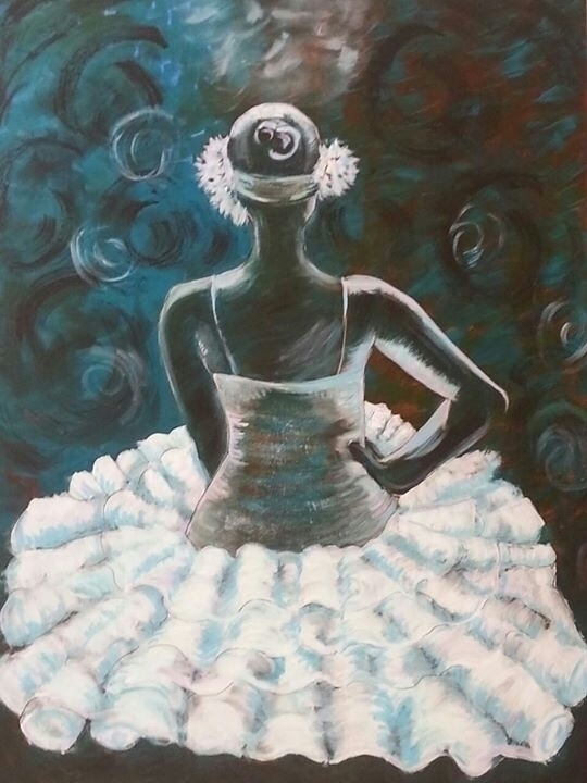 Final Dance - painting, ballet, acryliconcanvas - michele-1314 | ello