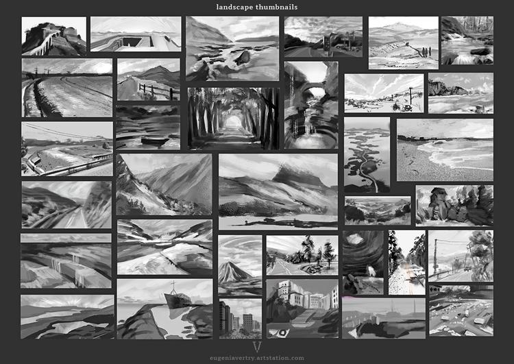 Landscape thumbnals - landscape - eugeniavertryvorontsova | ello