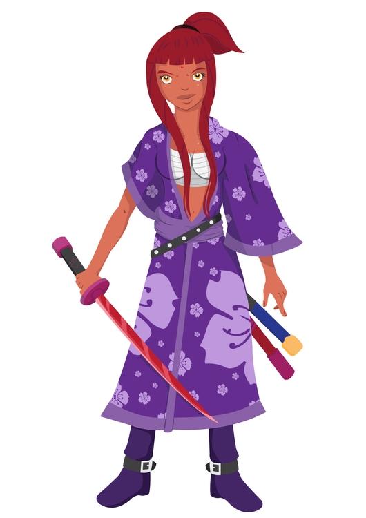 Maylena Lockheart (Age 15 - characterdesign - thodoris91 | ello