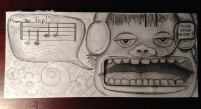 Singing Envelope - pencil, envelope - catsnodgrass | ello