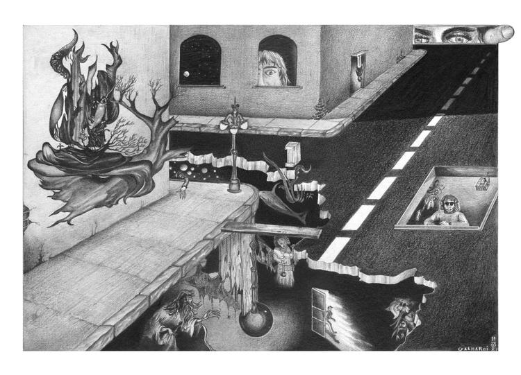 Surrealism - illustration - juliocgrio | ello