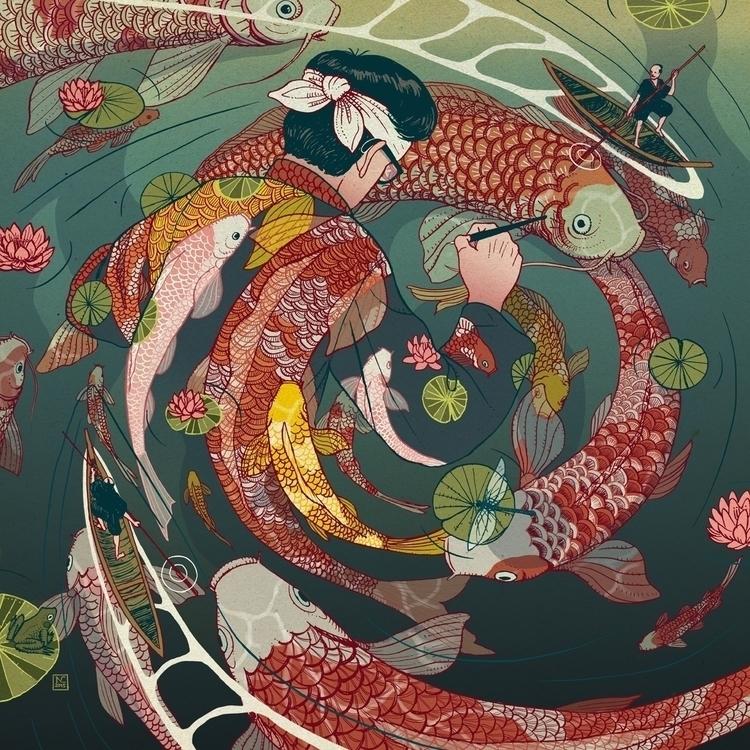 creative circle, 2015 - illustration - nicolascastell   ello